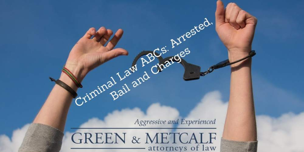 Criminal Law ABCs: Arrested, Bail and Charges