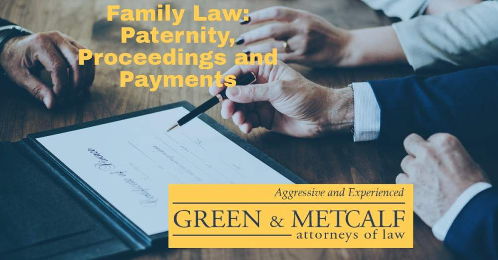 Family Law: Paternity, Proceedings and Payments