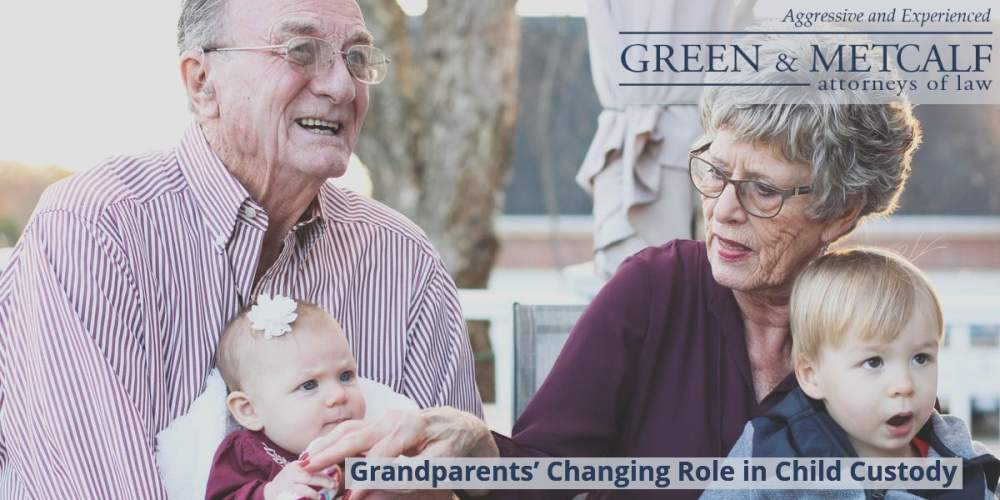 Grandparents' Changing Role in Child Custody