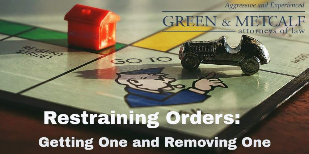 Restraining Orders: Getting One and Removing One